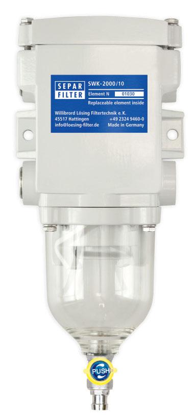 lọc nhiên liệu tách nước separ