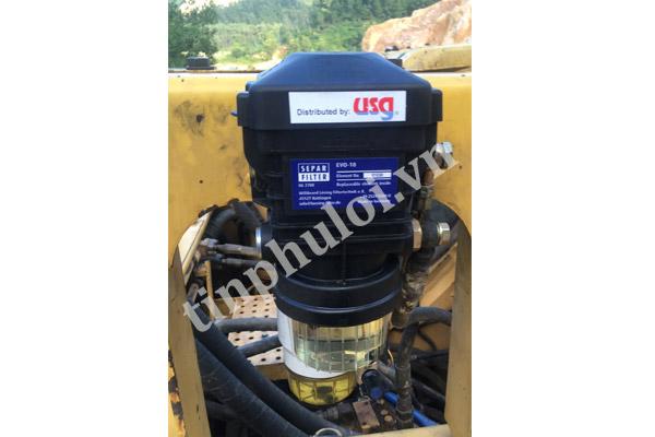 phụ tùng máy xúc lọc tách nước