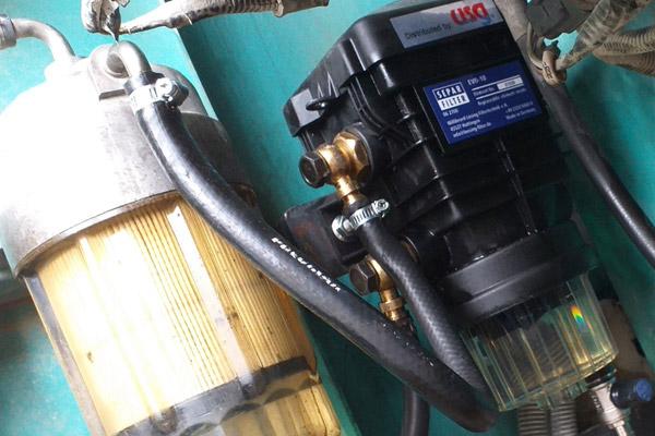 lọc  tách nước diesel