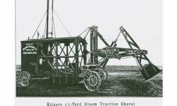 Khám phá lịch sử phát triển của máy xúc trên thế giới