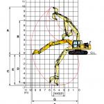 Tài liệu thông số  kỹ thuật máy đào Komatsu PC200 - tinphuloi.vn
