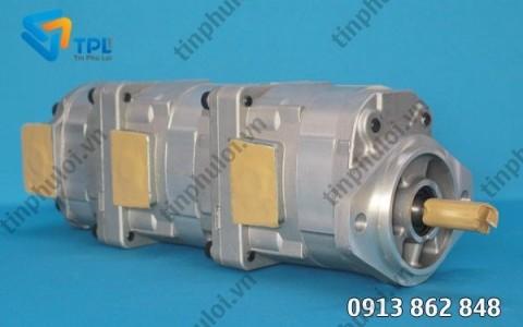 Bơm thủy lực bánh răng 24080 cho PC60 - tinphuloi.vn